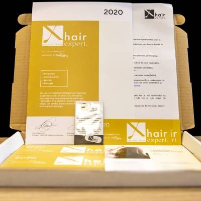 Your Hairexpert label is on its way!